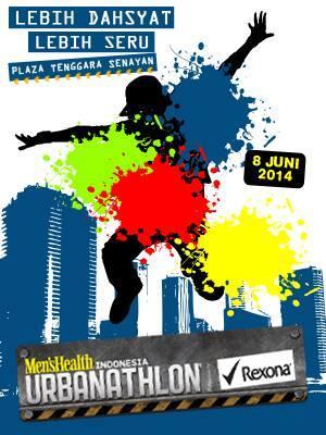 Men's Health Indonesia URBANATHLON, 8 Juni 2014, Plaza Tenggara Senayan