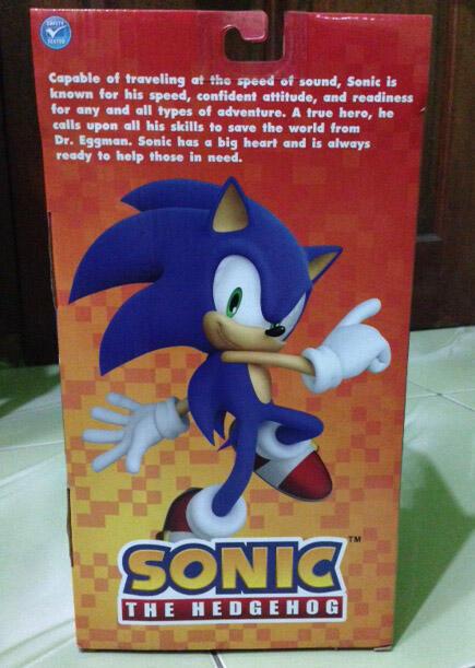 Dijual Action Figure Sonic 12 inch ORI
