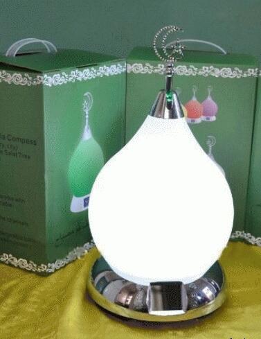 Lampu Hias Cantik Lampu Adzan Led Jam Alarm Pengingat Waktu Shalat