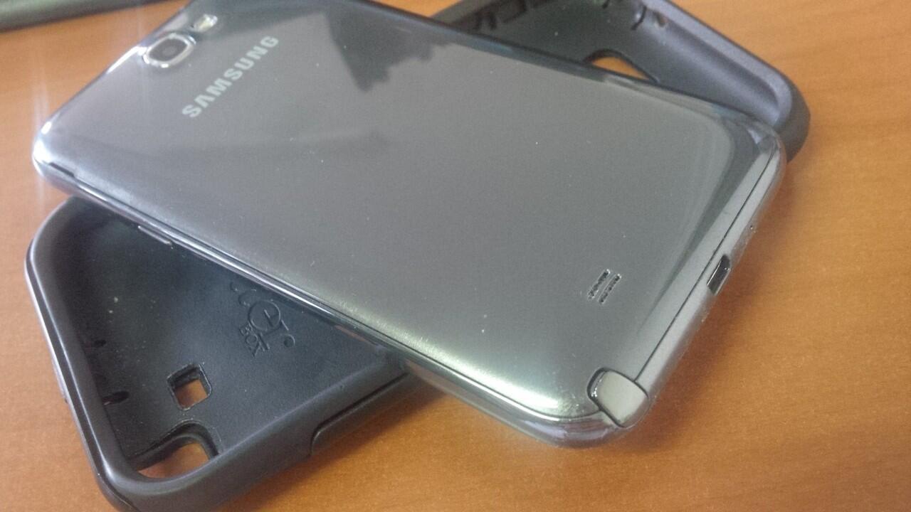 Galaxy Note 2 N7100 SEIN Grey Mulus 98% + Otterbox Muluss Murahh!
