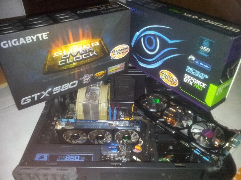 COD Only : VGA Gigabyte GeForce GTX 580 Super OC Bonus Logitech F710 Wireless Gamepad