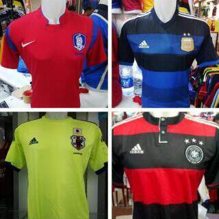 SALE JERSEY WORLD CUP 2014 MURAH, CLUB MUSIM TERBARU 2014/2015, ( MITRA SPORT )