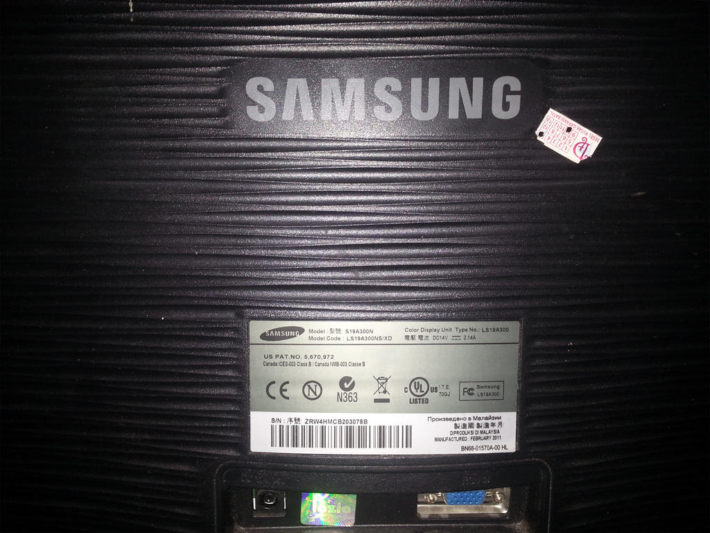 "JUAL VGA NVIDIA GT640 + Samsung 19"" SECOND!"