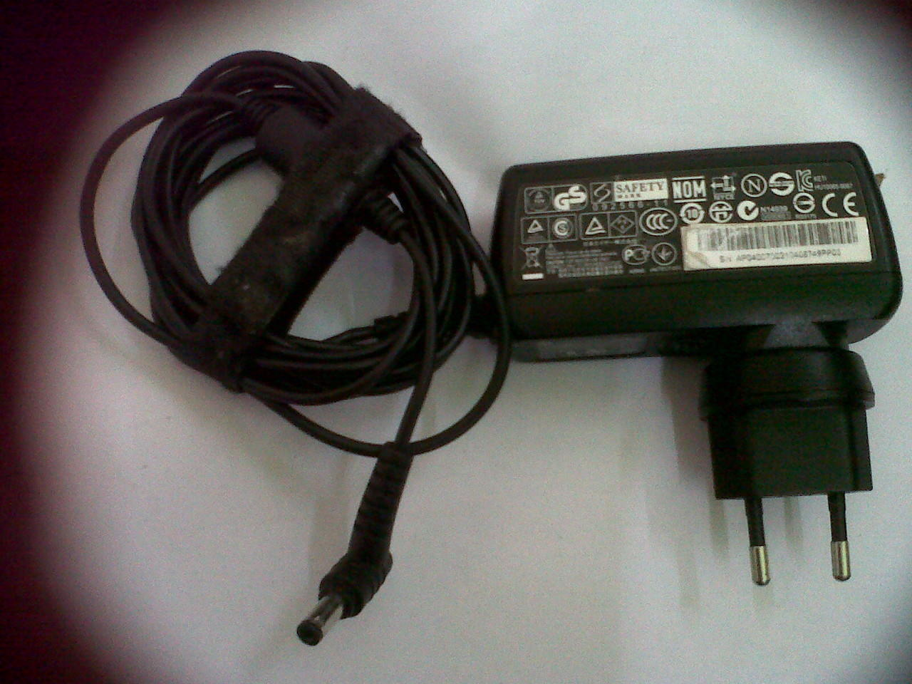 CHARGER NETBOOK ACER ASPIRE ONE ORI