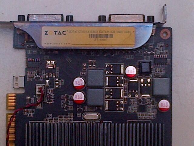 ZOTAC 430GT 1 GB 128 Bit