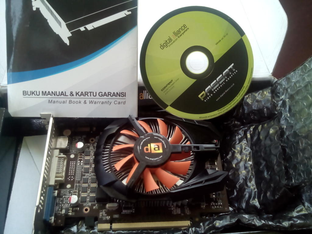 Digital Alliance GTX 560 DDR5 MURAH!