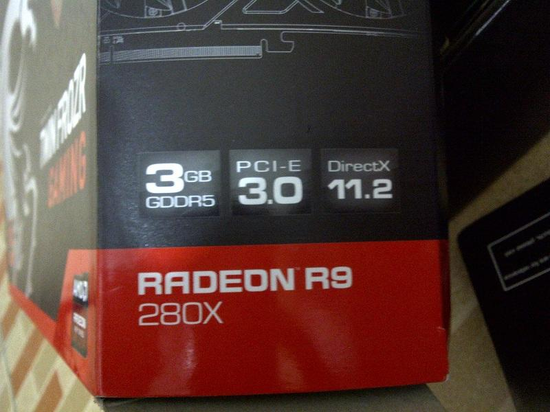 MSI R9 280X Gaming 3GB DDR5 384Bit Harga murah bandung...!!!!