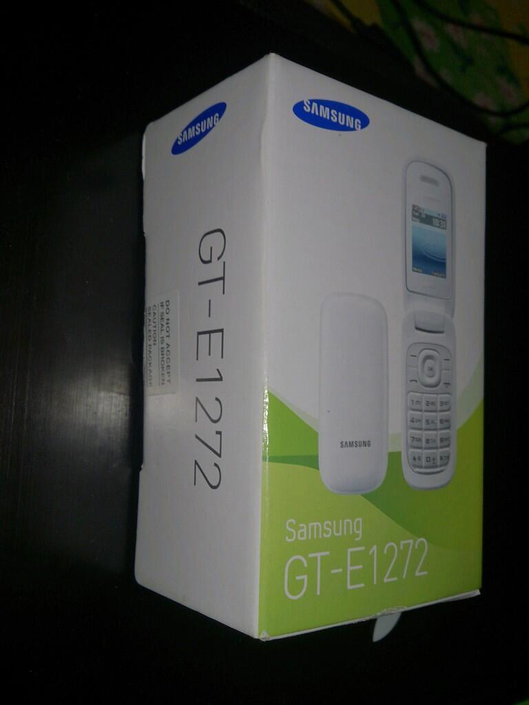 JUAL baru/new Samsung GT-E1272 hadiah doorprize! Lokasi Bogor