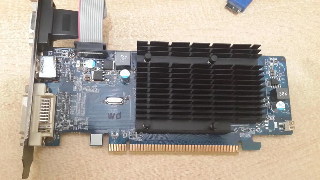 VGA Card Sapphire ATI Radeon HD 4350 512MB 64Bit DDR 2