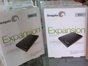 HARDISK EXTERNAL SEAGATE EXPANSION 500GB HARDISK EXTERNAL SEAGATE EXPANSION 1TB