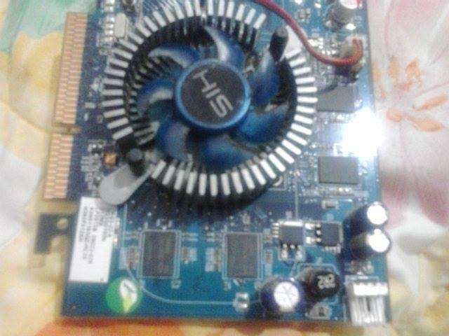 JUAL VGA AGP LANGKA : HIS HD 3650 512MB 128BIT