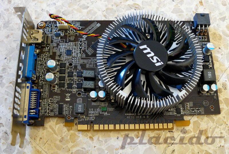 MSI GTS 450 1GB DDR3