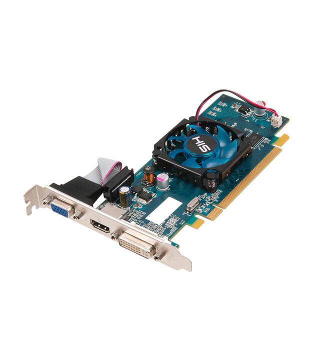 Jual VGA 1GB DDR3 PCI-E HIS 5450 ATI RADEON