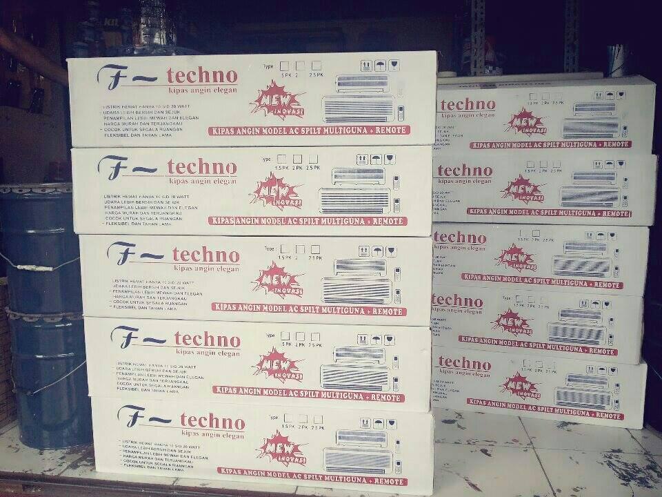 [WTS] New!! Techno Kipas Angin Model Ac Hemat Listrik