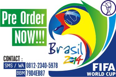 [Pre Order] Premium Polo Piala Dunia 2014 | Minimalis, Elegan | Tebal, Adem