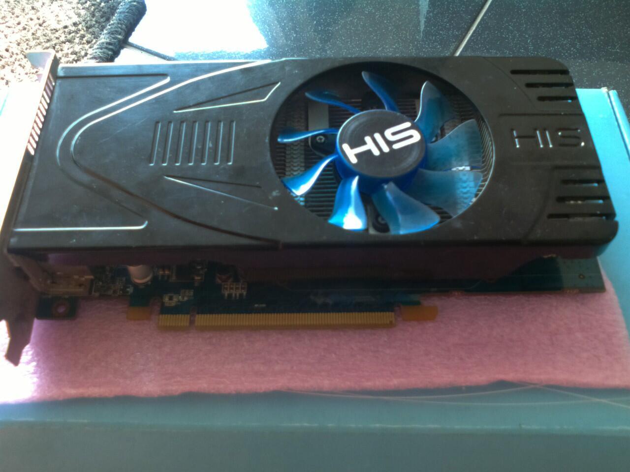 HIS hd 5770 1gb 128bit ddr5 i cooler
