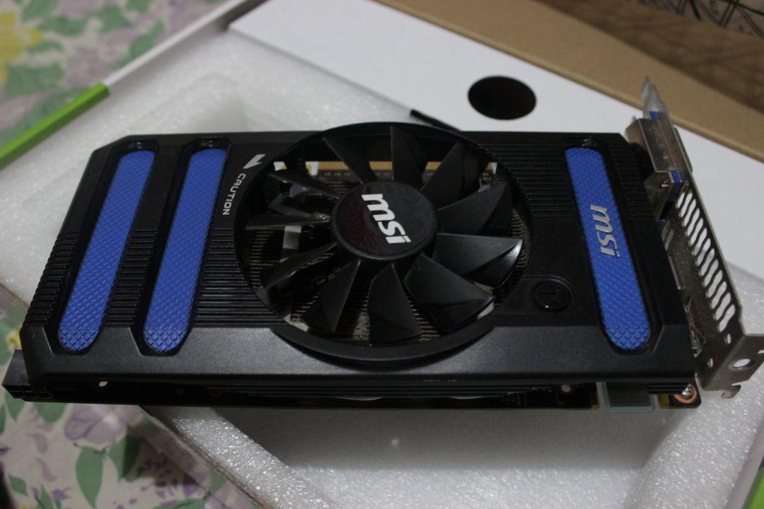 MSI GTX 650Ti Boost 1gb 192bit OC edition