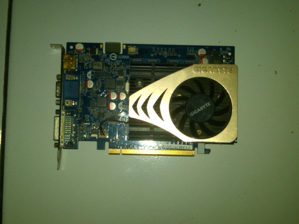 VGA PCI E GiGabyte GF9500GT 1GB, DDR2, 128Bit