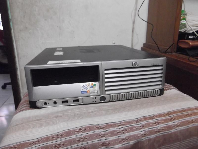 Komputer CPU PC dekstop BRANDED HP 350rb