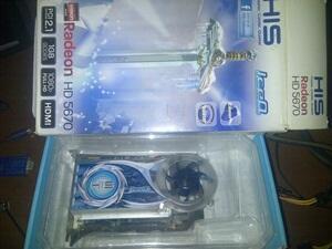 VGA His IceQ Ati 5670 1Gb DDR5 Murmerz aja