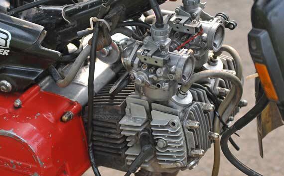 Honda Astrea Grand Dua Silinder 218 cc!