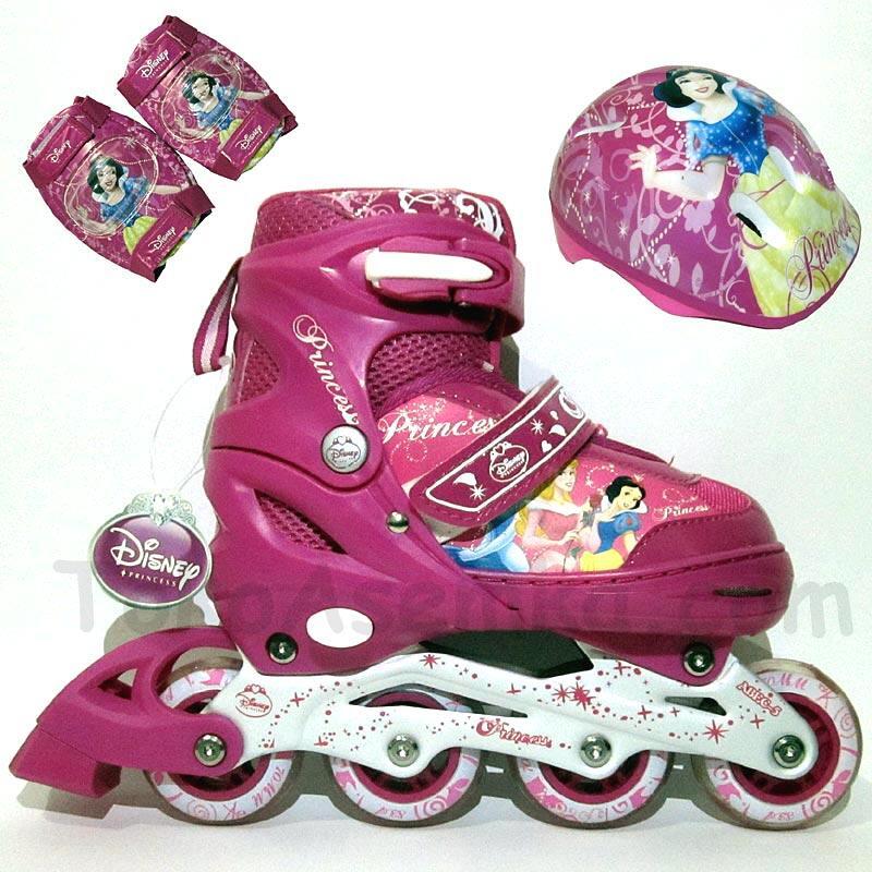Terjual Sepatu Roda Inline Skate DISNEY Pink Size M (1 Set)  ba5972c0d3