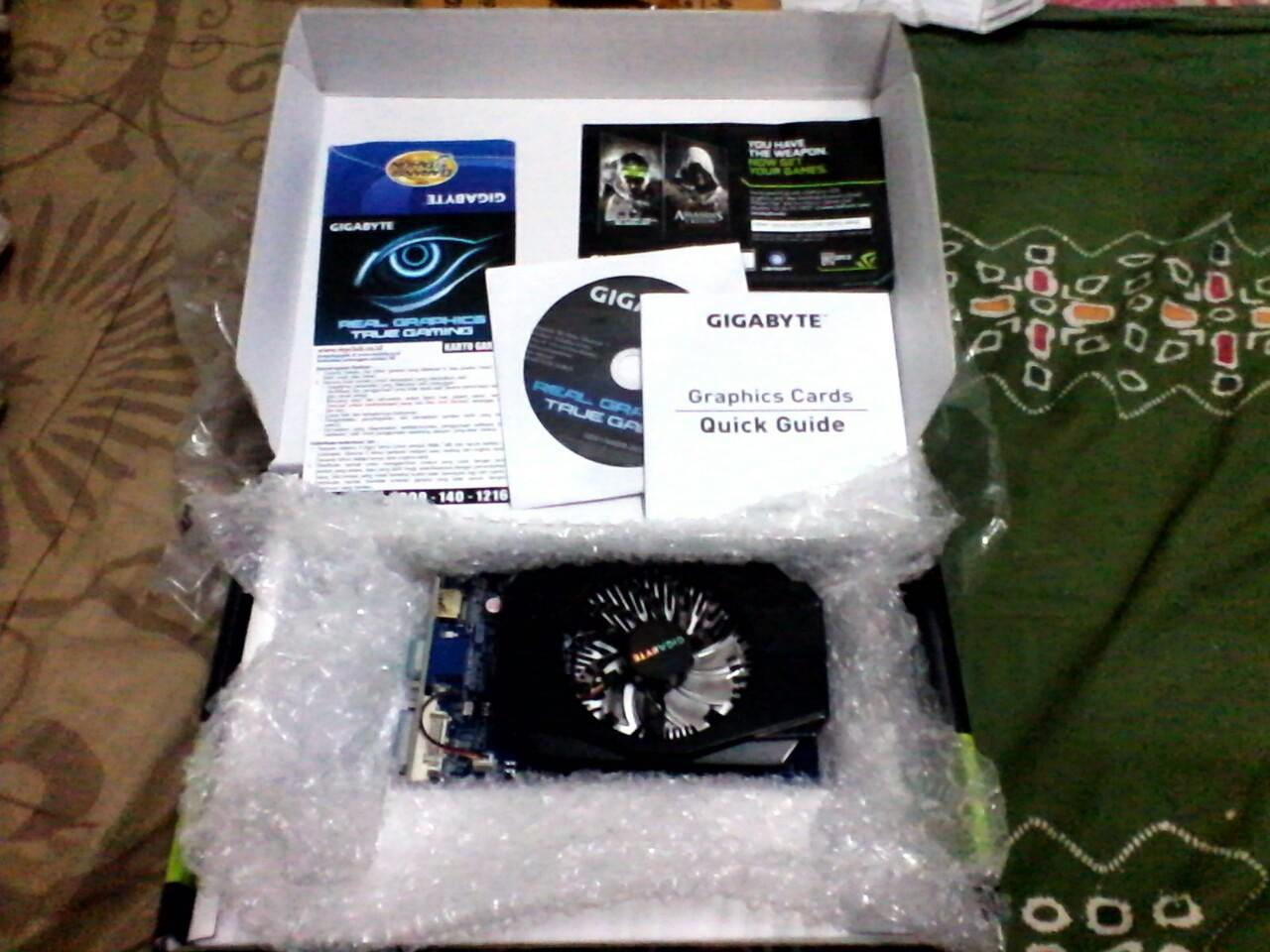 VGA Gigabyte GT630 2GB GDDR3 Fullset Garansi Panjaaang