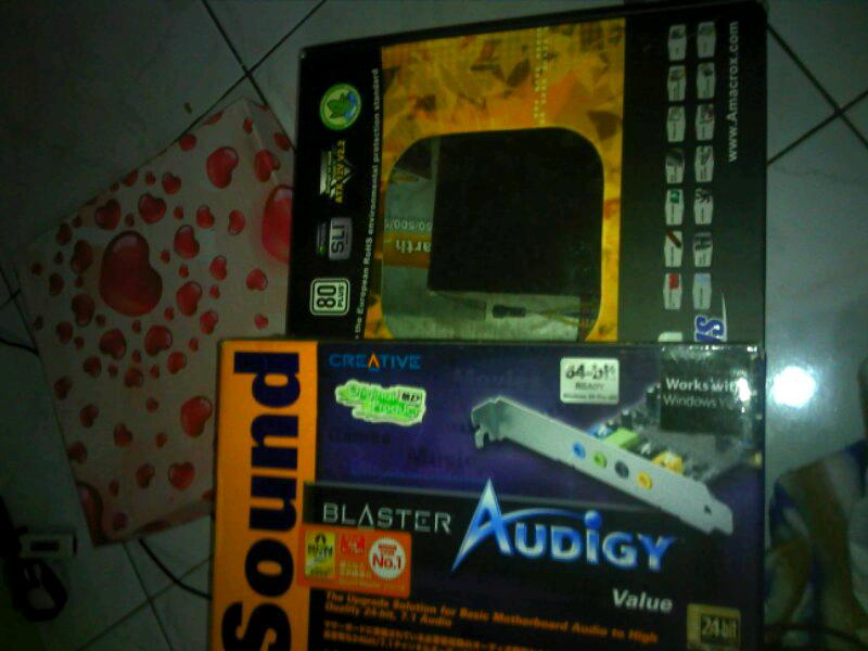 Soundcard audigy value sb0570