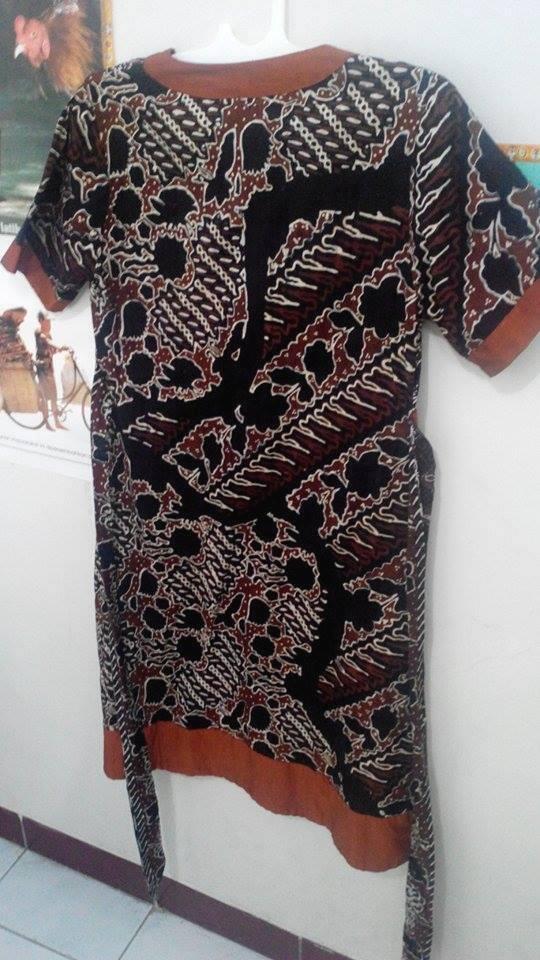 Dress Batik Tulis Sogan