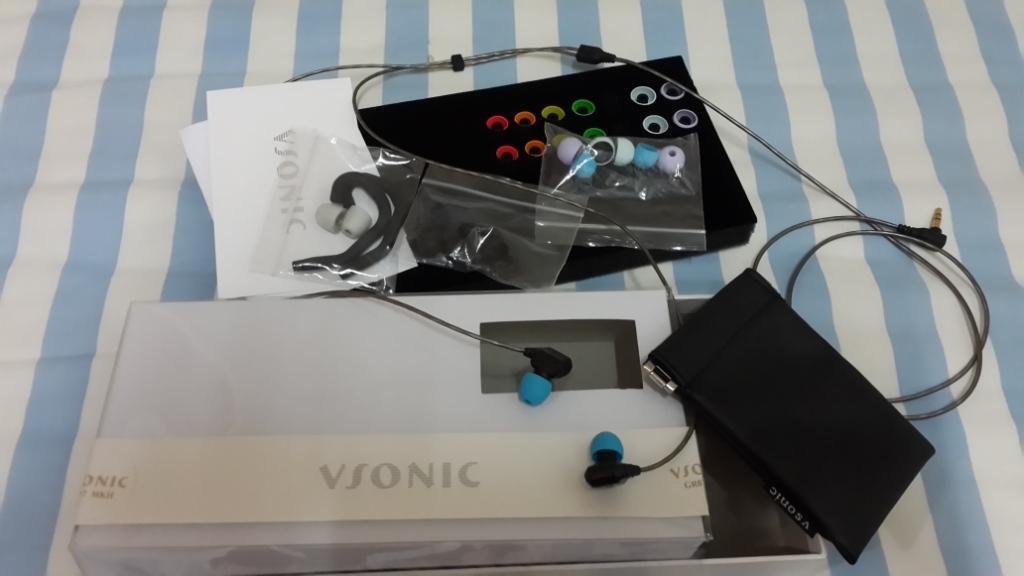 WTS Earphone IEM VSONIC GR07 mk2 - SECOND(LIKE NEW)