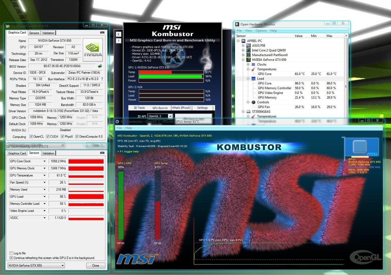 WTS Zotac GTX 650 Synergy Edition 1Gb (SALATIGA)