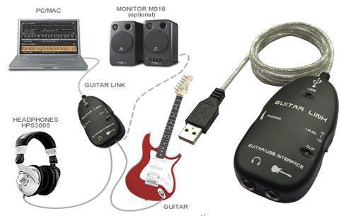 Behringer Guitar Link UCG 102