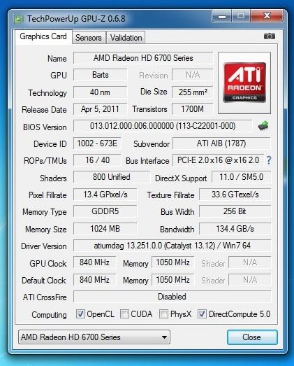 Vga 256bit DDR5, Digital Alliance hd 6790 1gb [Bandung - Jatinangor]