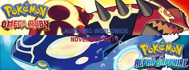 [3DS] Pokémon Omega Ruby & Pokémon Alpha Sapphire