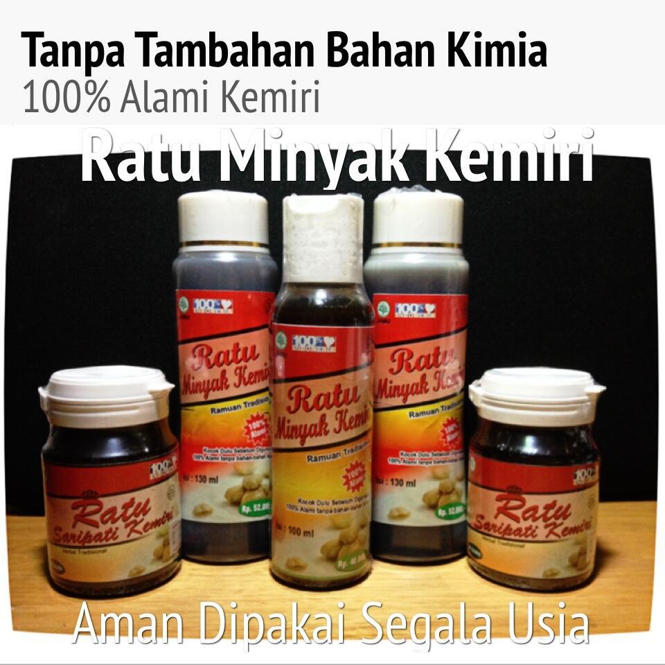 terjual minyak kemiri herbal, natural tanpa pengawet. paling Gambar Minyak Kemiri Herbal