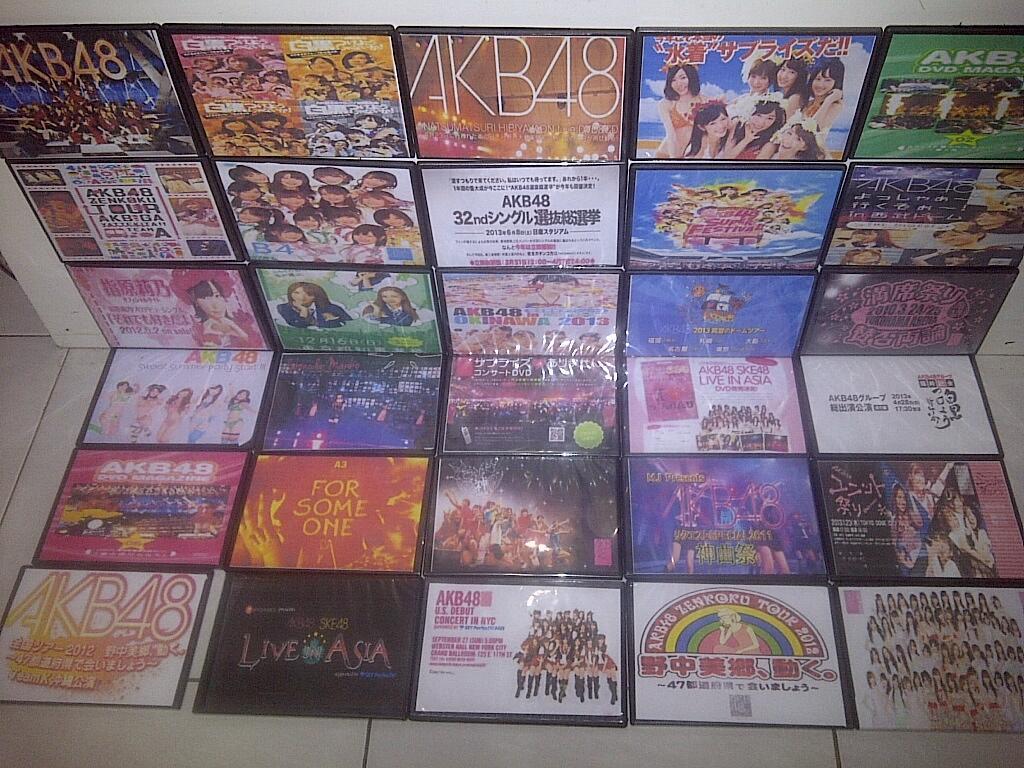 Terjual Dvd Akb48 Komplit (konser-konser Akb48)