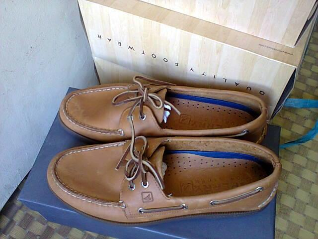 SEPATU FORMAL KULIT SPERRY TOP SIDER SAHARA BIG SIZE ORIGINAL SUPER MURAH