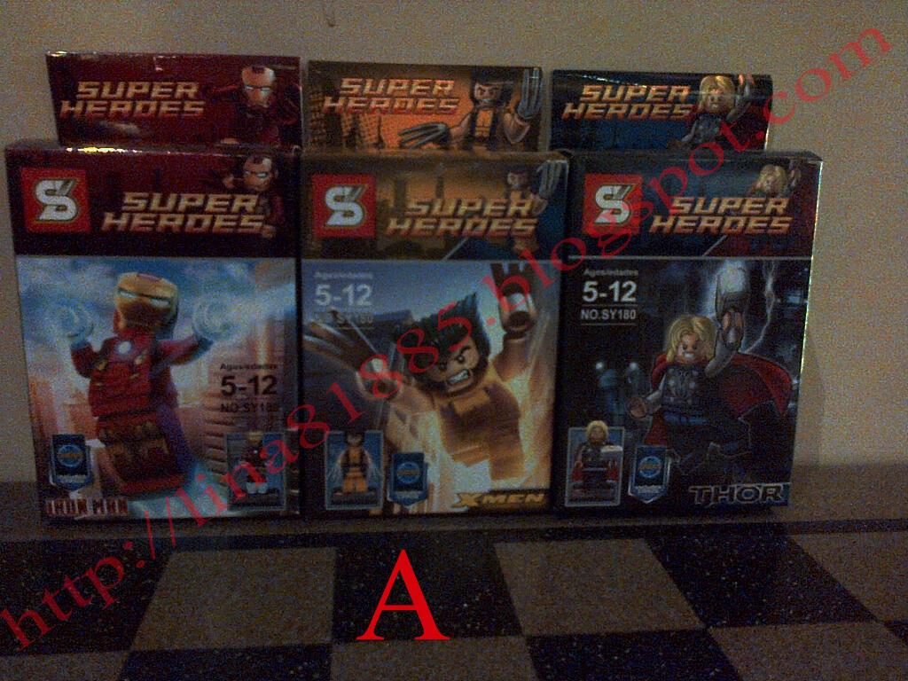 DIJUAL LEGO SUPERHEROES NON GASING KW SET