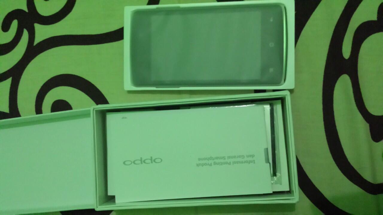 Terjual Oppo Joy Aka R1001 Warna Putih Kaskus 4gb