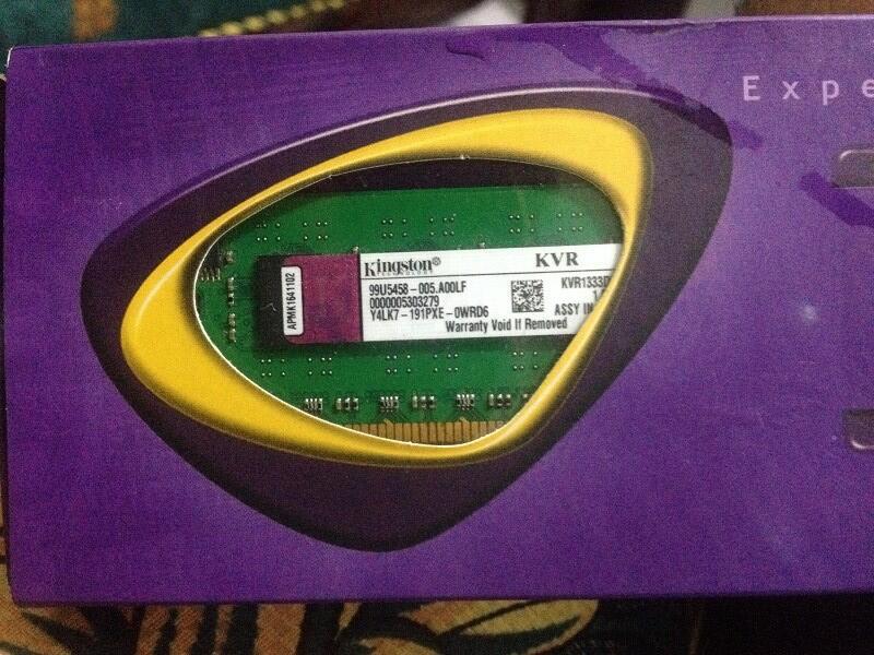 JUAL DDR3 RAM 4GB KINGSTON! HARGA MURAAAH!!!