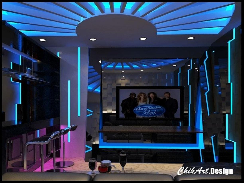 Interior design home theater karaoke room