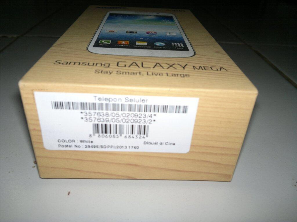 "[WTS] Samsung Galaxy Mega I9152 DUOS 5.8"" / White (Original 2013)"