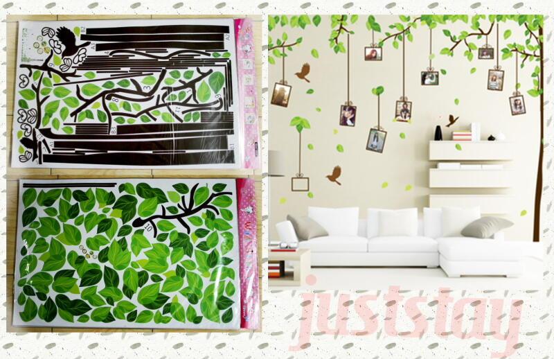 Ready Stock Wall Sticker Stiker Dinding Murah Gan Bikin Vintage Kamar dan Rumah