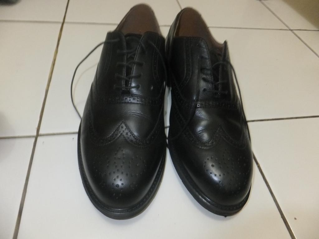 Terjual jual sepatu pantofel kulit rockport black hitam size 44 ... 4637ba7b4b