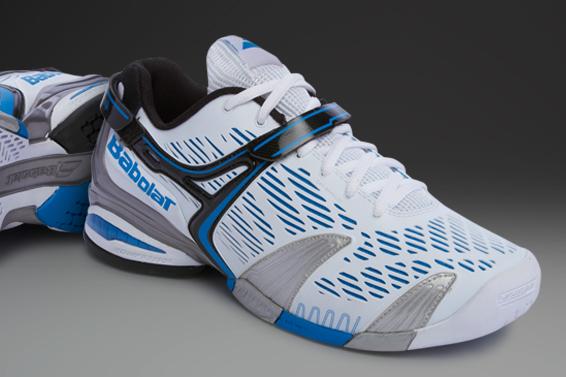 acheter populaire 72c7c e8867 Terjual Sepatu Tennis Babolat Propulse 4 White/Blue