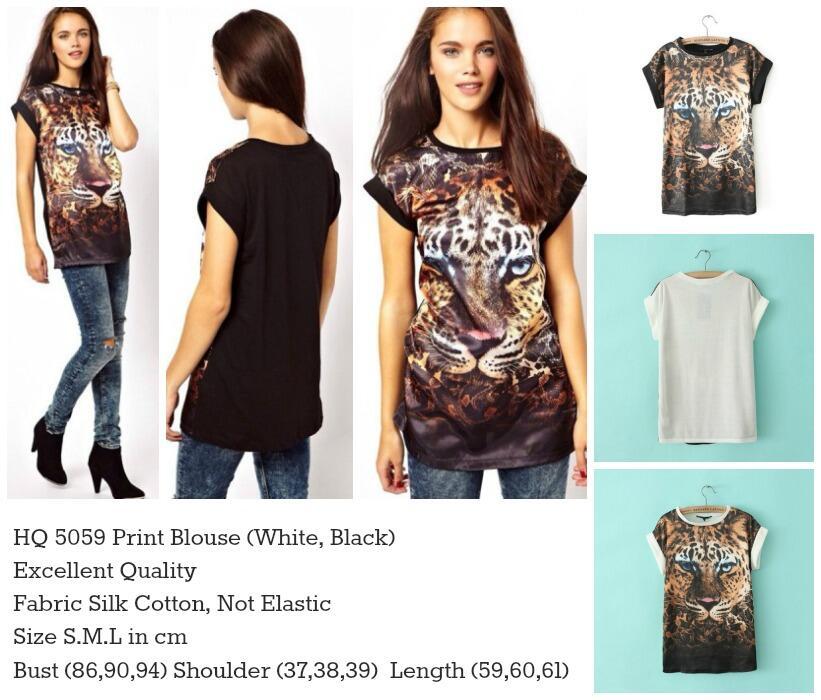 HQ 5059 Print Blouse