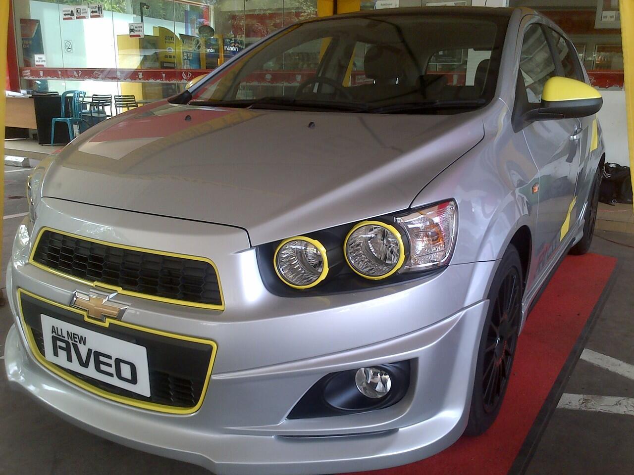Chevrolet Aveo 1.4L LT MT