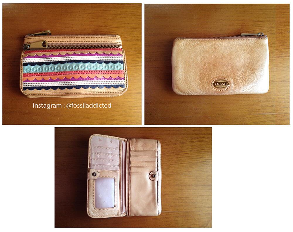 NEW & preloved Original Fossil bag and VRI wallet & Explorer