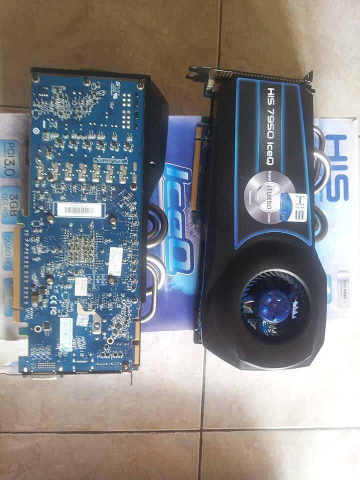 VGA HIS HD 7950 IceQ