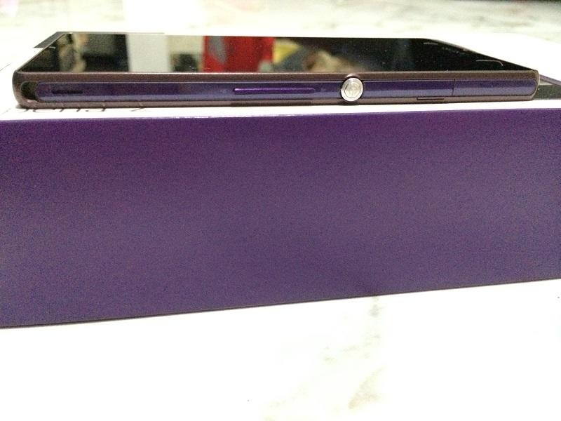 Sony Xperia Z Lte C6603 Purple ngelimis ex cewe